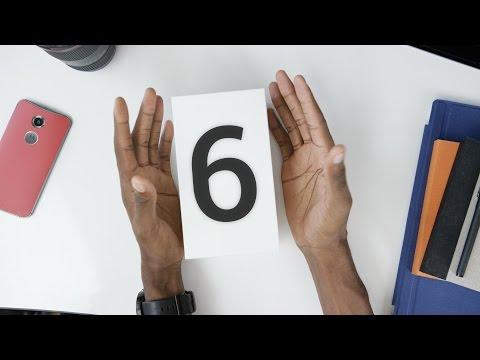 Google Nexus 6 Unboxing + Hands On!
