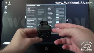 How to Power the WOLFCOM Halo Body Camera ON and OFF