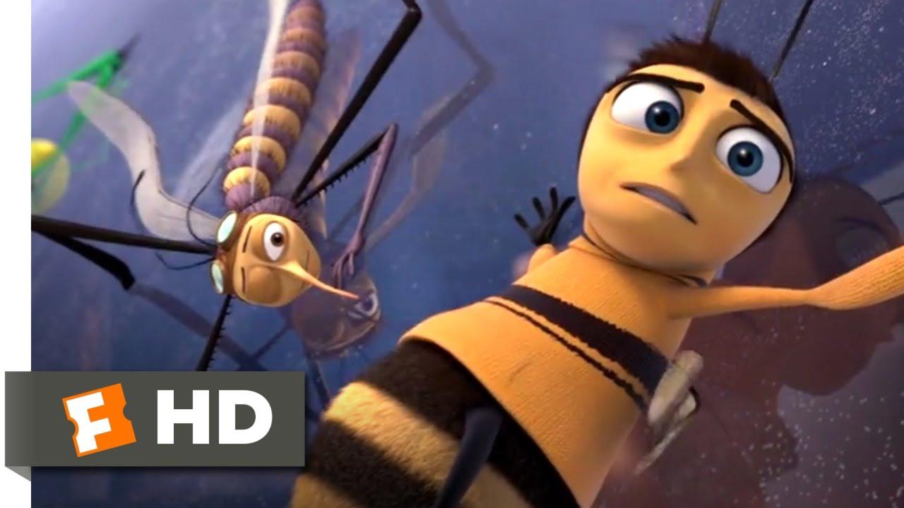 Bee Movie 2007 Hitchhiking Honey Bee Scene 4 10 Movieclips Youtube