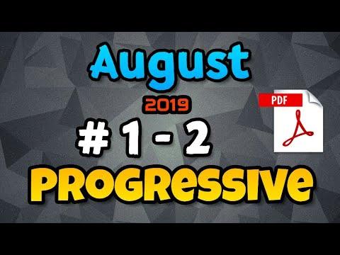 # 1 - 2 | 110 wpm | Progressive Shorthand | August 2019