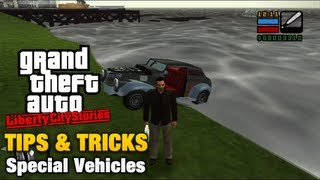 GTA Liberty City Stories - Tips & Tricks - Special Vehicles