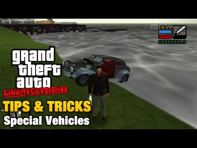 GTA Liberty City Stories - Tips & Tricks - Special Vehicles Travel Video
