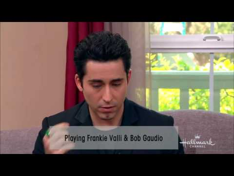 John Lloyd Young and Erich Bergen  for Hallmark Channel