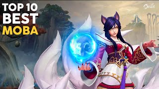 Top 10 Best MΟBA Games for Android & iOS 2021 | 5v5 MOBA Games For Android