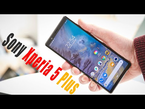 Sony Xperia 5 Plus - 6,6-дюймовый OLED-экран , тыльная квадрокамера