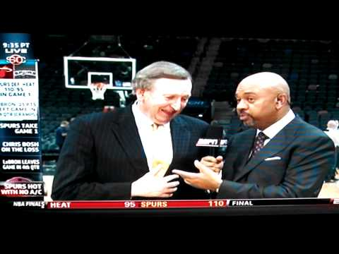 Rod Thorn Speaks on Air Conditioning Not Working During Game 1 of the 2014 NBA Finals