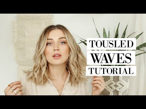 The PERFECT Tousled Loose Waves HAIR TUTORIAL - YouTube