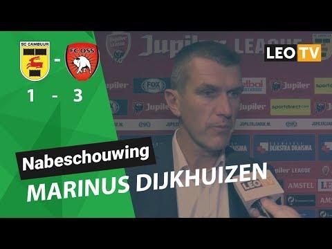 Nabeschouwing Marinus Dijkhuizen SC Cambuur - FC Oss