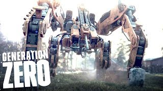 THERE WILL BE NOTHING LEFT OF THIS WORLD.. The Harvest Has Begun - Generation Zero Gameplay