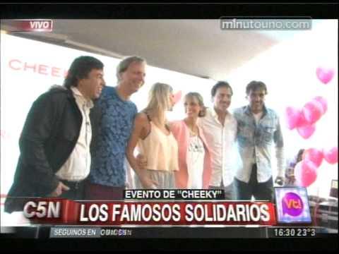 C5N - VIVA LA TARDE: LOS FAMOSOS SOLIDARIOS