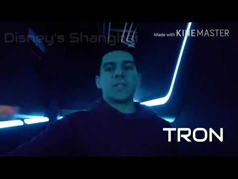 Disney Shanghai - TRON - Igor's Onboard Cam