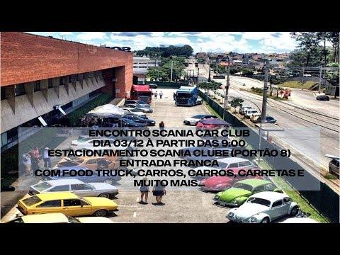 4º Encontro Scania Car Club 03/12/2017 Em SBC São Paulo Joaninha Fusca Caminhao Up Opala Modificados