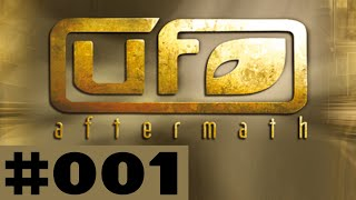 Let's Play UFO Aftermath Part #001 Near Extinction Event
