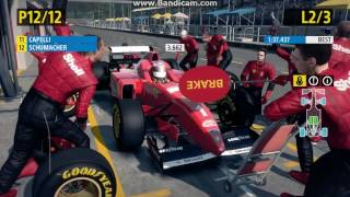 F1 2013 Classic Edition Classic Cars Pit Stops