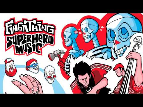 ALBUM: Fingathing - Superhero Music [Fingathing Federation]