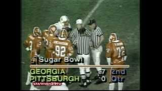 1981 National Championship 1982 Orange Bowl Nebraska vs Clemson