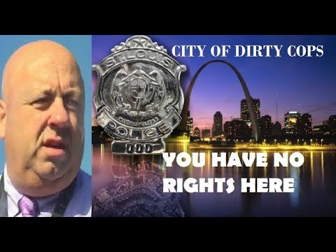 NEW! DIRTY SLMPD DET. STEVE BURLE EXPOSED