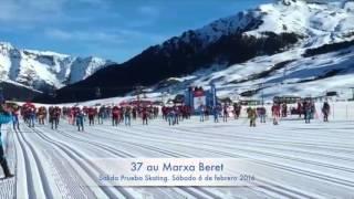 Marxa Beret Salida prueba Skating