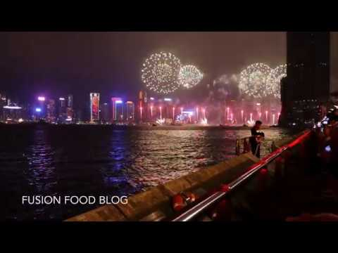 new year fireworks 2017 hong kong video happy new year everyone