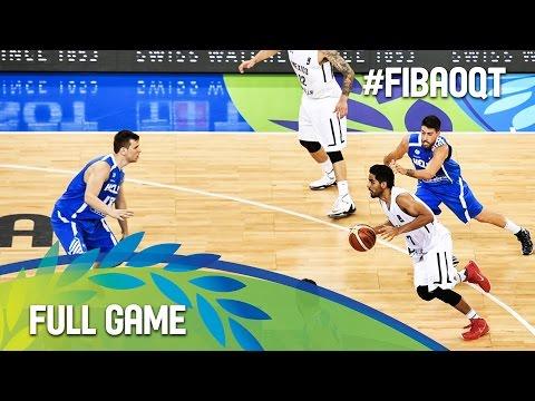 Mexico v Greece - Full Game - 2016 FIBA Olympic Qualifying Tournament - Italy