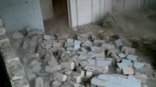 Демонтаж стен без инструмента