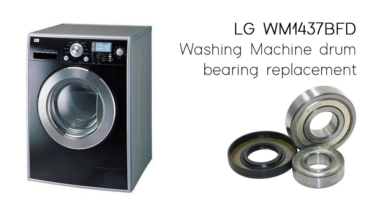 Washing Machine Drum Bearing Replacement Lg Wm1437bfd