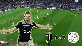Young Ajax Boys Making History | Juventus vs Ajax 1-2 | Tactical Analysis