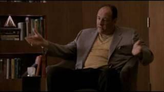 Tony Sopranos angry at some black folks