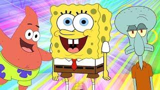 SpongeBob SquarePants Finger Family | WigglePop