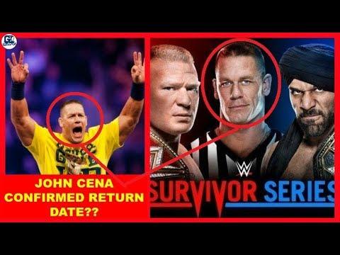 John Cena Finally Return as Guest Referee at Survivor Series 2017