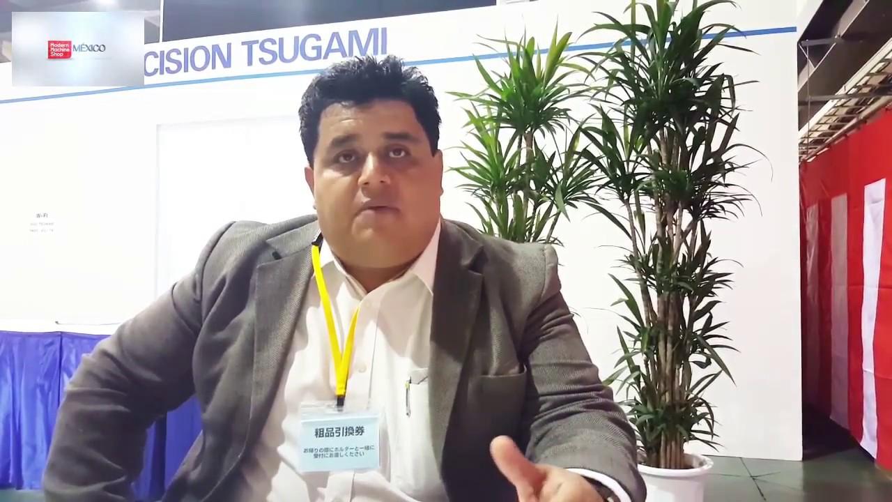 Tsugami realiza Feria Tecnológica en Japón