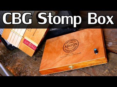 How To Make A Stomp Box & Electrify Cigar Box Guitars - NightHawkInLight