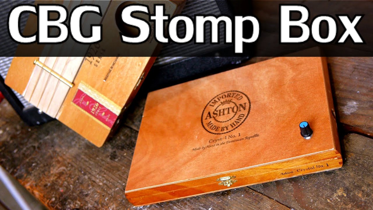 how to make an acoustic stompbox