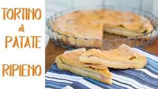 TORTINO DI PATATE RIPIENO Ricetta Facile - Homemade Mashed Potato Pie Recipe