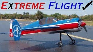 "RC Yak-54 48"" Extreme Flight 3D flight - Arnaud Rouchon"