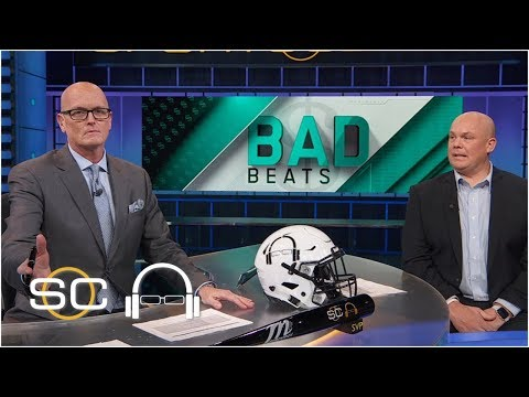 Bad Beats featuring Miami Heat, wild college basketball endings | SC with SVP