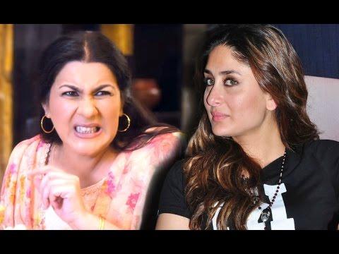 Saif Ali Khan First Wife Amrita Singh REACTION On Kareena ...