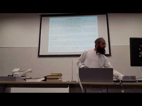 Is Islam Misunderstood ?  (Discover Islam week at Lancaster University) - 1 of 2