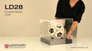 Football Display Case - Luminati Waycon Ltd