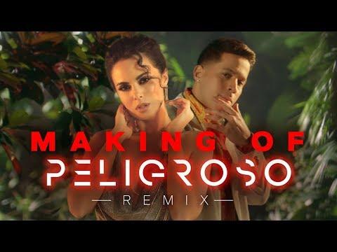 NK Feat DE LA GHETTO - PELIGROSO REMIX | MAKING OF