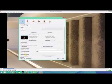 Rotate & Save a Video using VLC Media Player 2.2.0