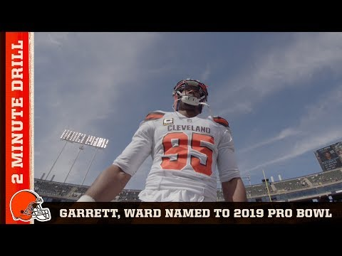 Myles Garrett & Denzel Ward Selected for 2019 Pro Bowl | Browns 2 Minute Drill