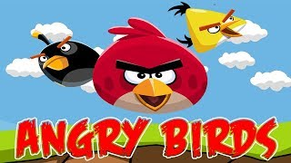 Hitting Minions with Angry Birds, Surprise Eggs Angry Birds, Angry Birds Toy Collector,