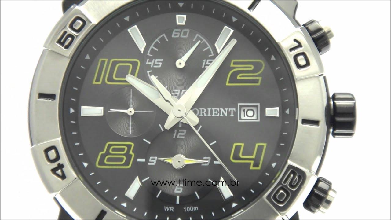 f42a213df33 relógio masculino Orient Sport MPSPC006 P2PX - YouTube