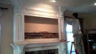 Custom Built Fire Place Mantel By Creative Custom Construction