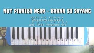 Versi Slow Not Pianika Karna Su Sayang Near Feat Dian Sorowea Youtube