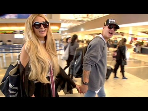 Thumbnail: Paris Hilton And Chris Zylka Jet Out To Cannes