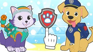 BABY PETS Kira Dresses up as Explorer Puppy 💥 Educational Cartoons and Games for kids