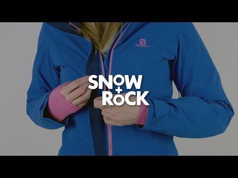 Salomon Brilliant 2018 Women's Ski & Snowboard Jacket Overview by Snow+Rock