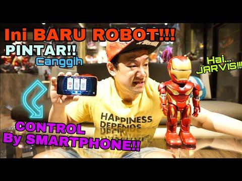 INI BUKAN MAINAN!! INI ROBOT PINTAR!! UNBOXING IRONMAN ROBOT MK 50 By UBTECH!! BERASA PUNYA JARVIS!!